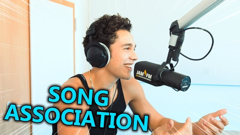 Austin Mahone – Miley Cyrus, Michael Jackson, Bazzi Justin Bieber   Song Association ⚡ JAM FM
