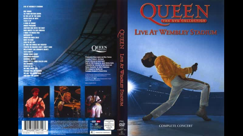 Queen - Baby I Don't Care / Hello Mary Lou / Tutti Frutti (Live At Wembley Stadium Saturday 12-07-1986)