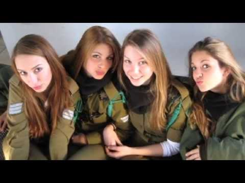 IDF GIRLS BORN TO WIN MILITARY MOTIVATION ISRAEL POWER