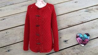 Cardigan Nina Crochet toutes tailles Lidia Crochet Tricot
