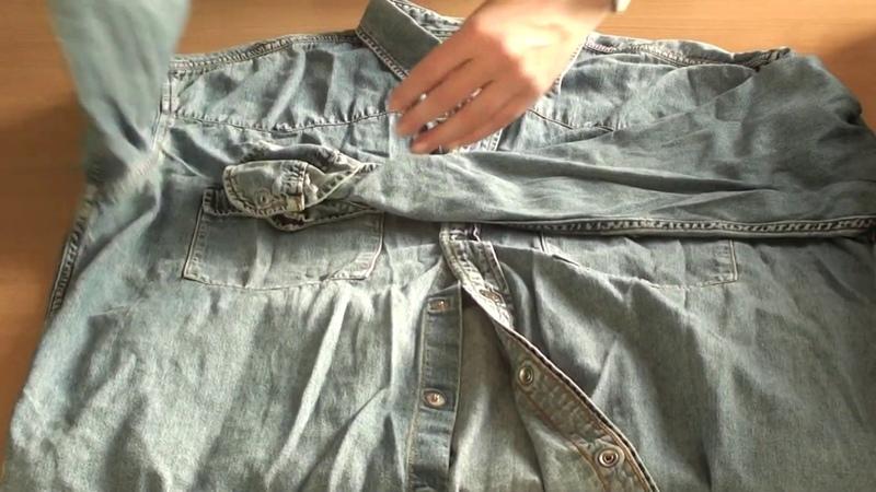 СР36 13 Рубашки джинсовые