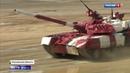 Женщины на танках и кулинарные поединки соревнования в Патриоте