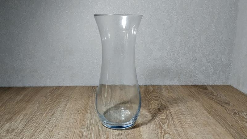 Из обычной стеклянной вазы сделали настоящую красоту Декор своими руками