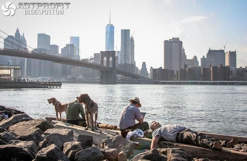 Колорит в лицах Нью-Йорка