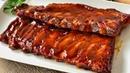 Costillas de cerdo en salsa barbacoa casera ¡SIN ingredientes RAROS