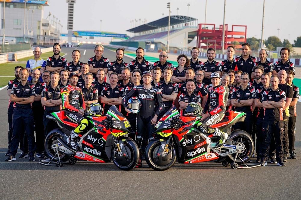 Презентация команды Aprilia MotoGP 2020
