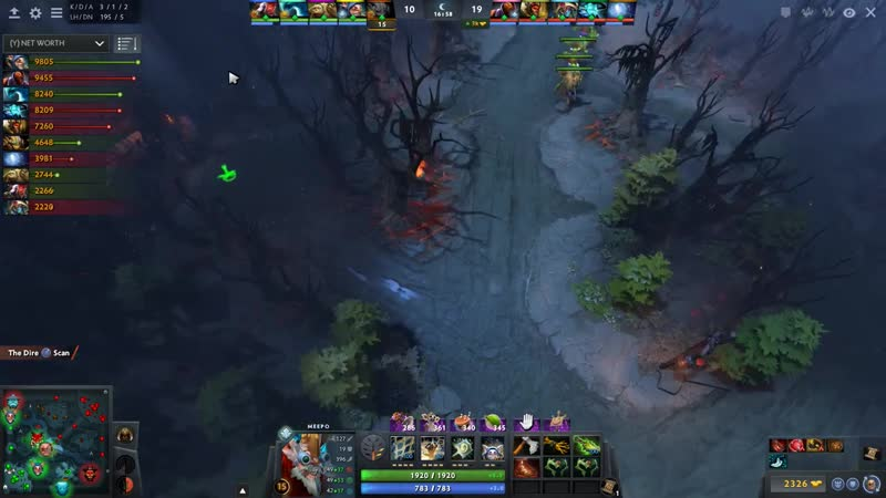 Miracle- Morphling Back to Main Account with w33 Meepo vs MinD_ContRoL Beastmaster - EPIC Dota 2