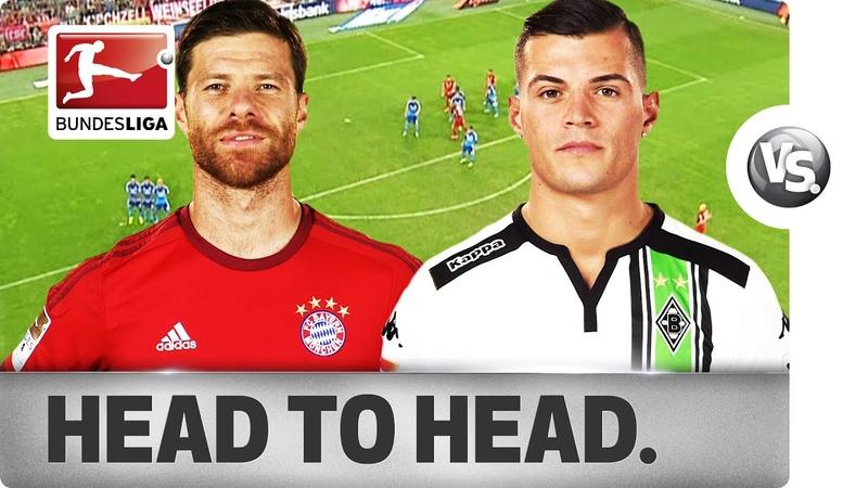 Xabi Alonso vs. Granit Xhaka - Midfield Generals Go Head-to-Head