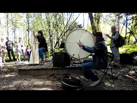 Irish air/waltz Inis Oirr | Dragon Fly: celtic harp, hammered dulcimer - celtic song