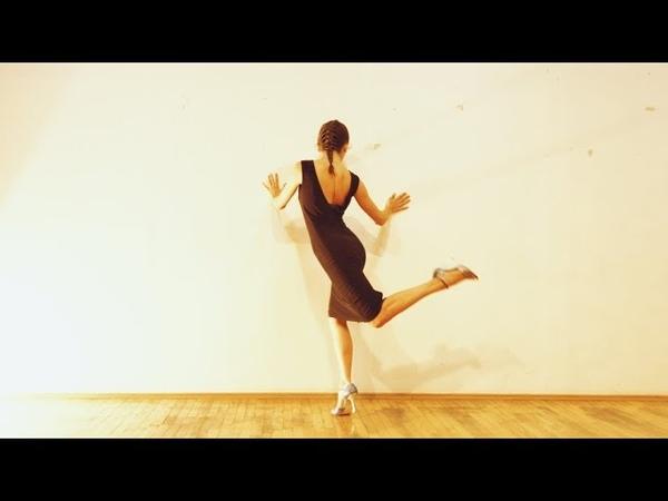 Tekla Gogrichiani - Tango Womens Technique - El Huracan Solo Tango Orquestra