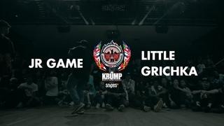 JR Game vs Little Grichka   Male Preselection Round   EBS Krump 2019