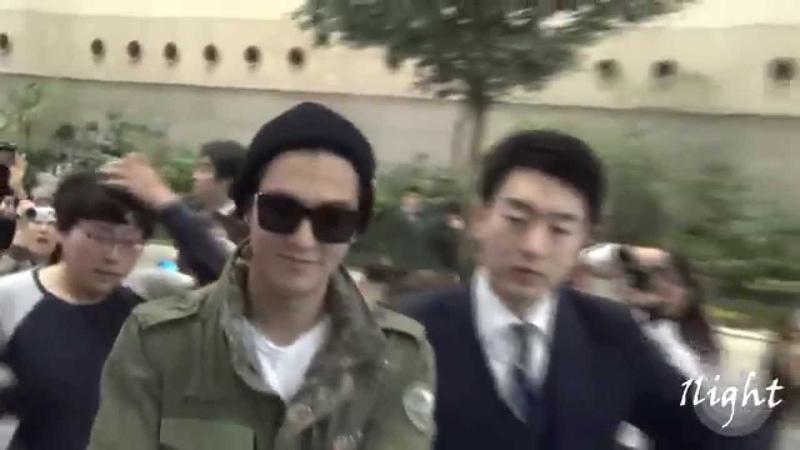 Lee Min Ho 20140327 Gimpo Airport 일본 출국