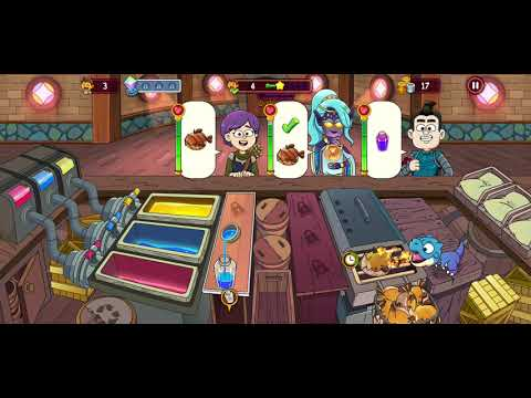 Potion Punch 2 Fantasy Cooking Adventures Android IOS Review Gameplay KQL Walkthrough Part 1