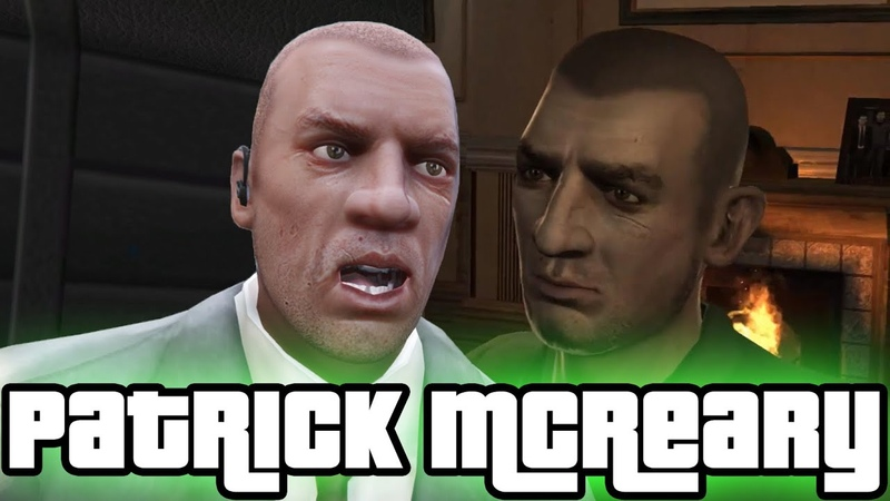 Patrick Packie McReary GTA IV and GTA V