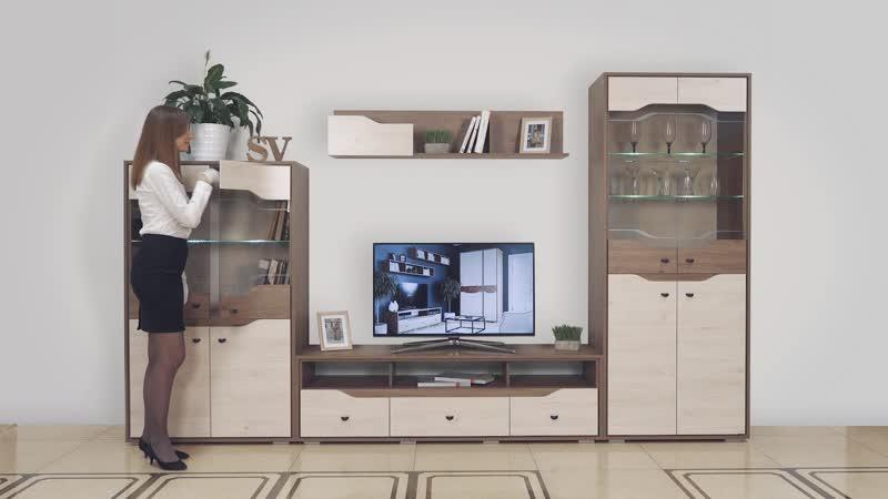 Видеообзор гостиной Верона