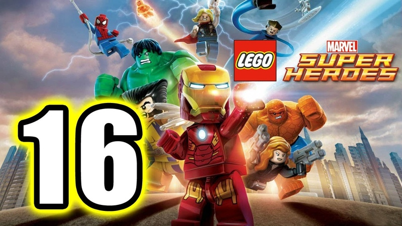 LEGO Marvel Super Heroes Walkthrough PART 16 PS3 Lets Play Gameplay TRUE HD QUALITY