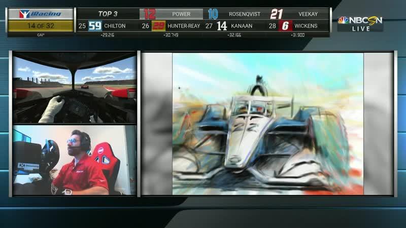 Indycar iRacing Challenge 2020. Round 5. COTA. Race