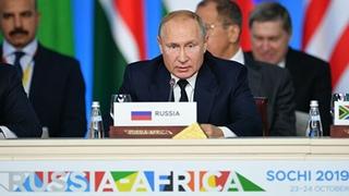 Заключительное слово Владимира Путина на пленарном заседании саммита Россия  Африка