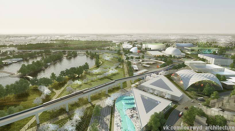 OMA unveils two masterplan concepts for RFK campus in washington DC