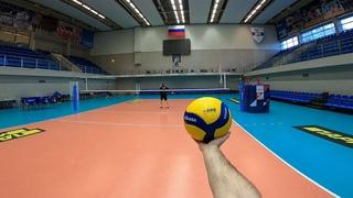 Волейбол от первого лица | VOLLEYBALL FIRST PERSON | ZENIT ST. PETERSBURG | LIBERO | 52 episode