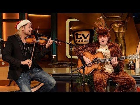 Xmas Songs mit David und Stefan TV total