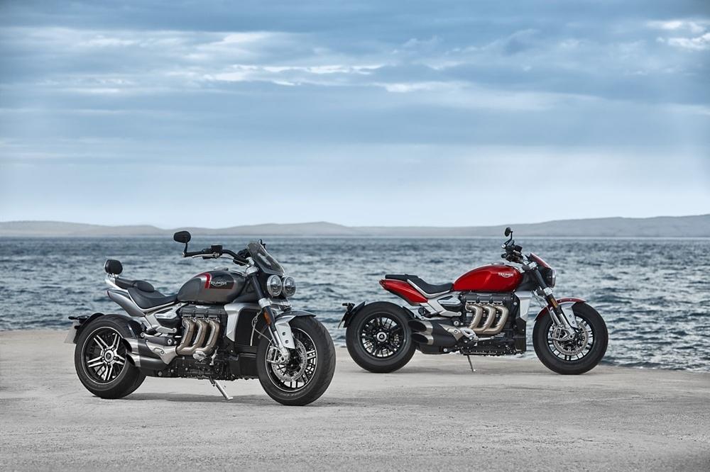 Компания Triumph объявила цены на Rocket 3 R и Rocket 3 GT