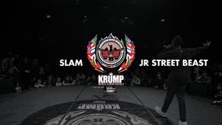 Slam vs JR Street Beast   Male Final   EBS KRUMP WORLD CHAMPIONSHIP 2018