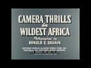 1960s AFRICA TRAVELOGUE w VICTORIA FALLS MOUNTAINS OF MOON CAMERA THRILLS Print 2 64054