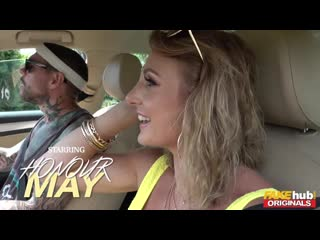 Fake Festival Honour May and Victoria May with John Fake Taxi