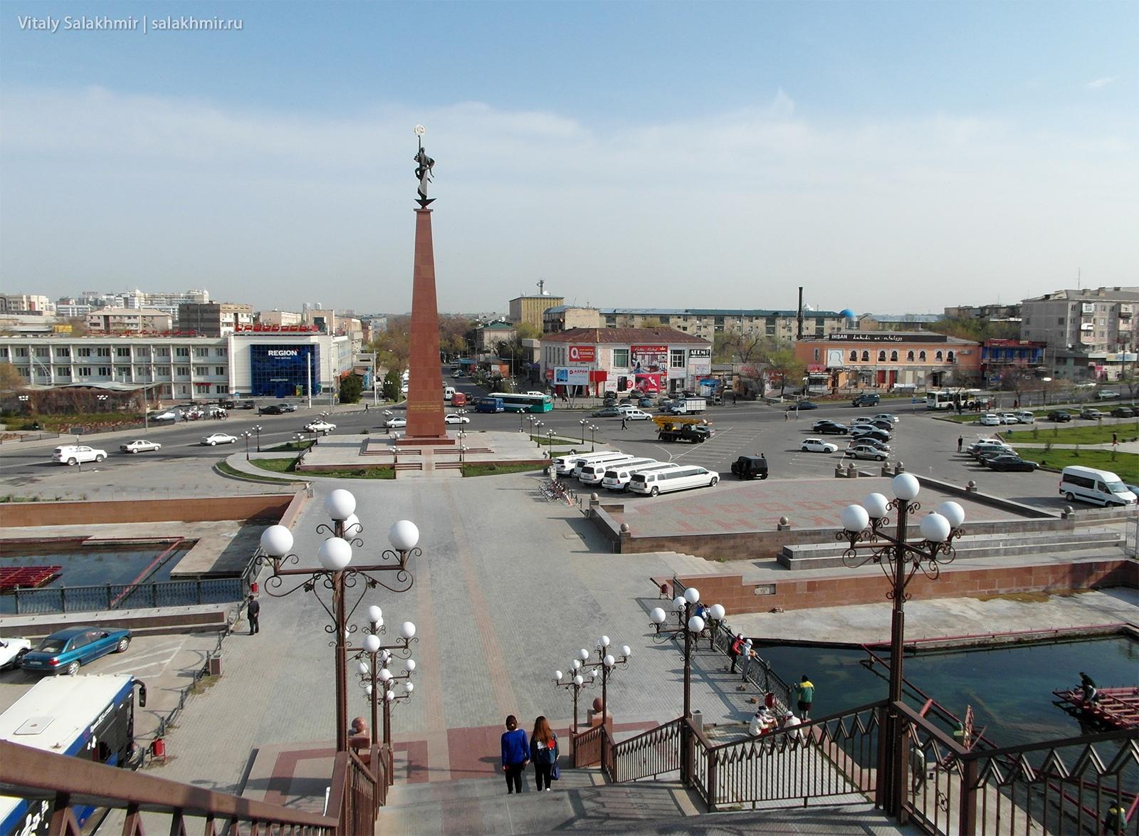 Площадь Ордабасы, Шымкент 2019