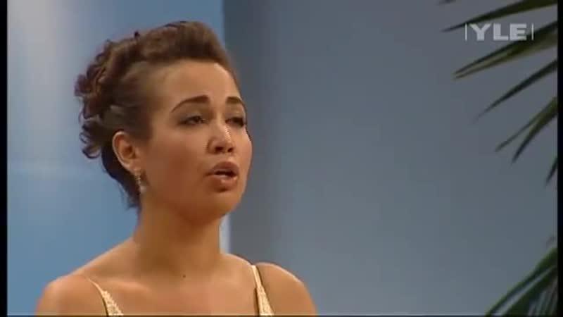 Melodia Sentimental Villa Lobos sung by Nadine Sierra