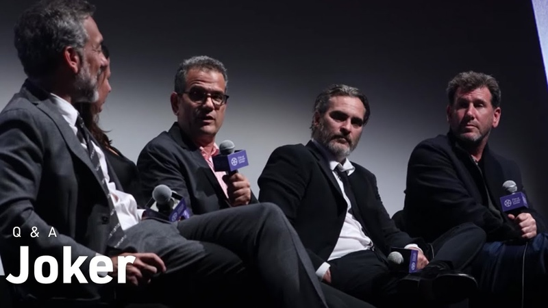 Joaquin Phoenix, Todd Phillips Crew on Joker, Realism, and Reimagining Gotham City | NYFF57