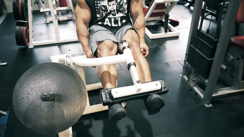 Plate Loaded Leg Extension Machine Level 2