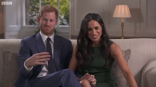 Отрывок из интервью принца Гарри и Меган Маркл по случаю помолвки.
