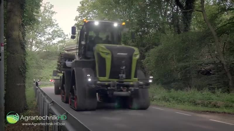 CLAAS XERION Traktor auf Kette _ CLAAS Agritechnica Neuheiten _ VLOG 12