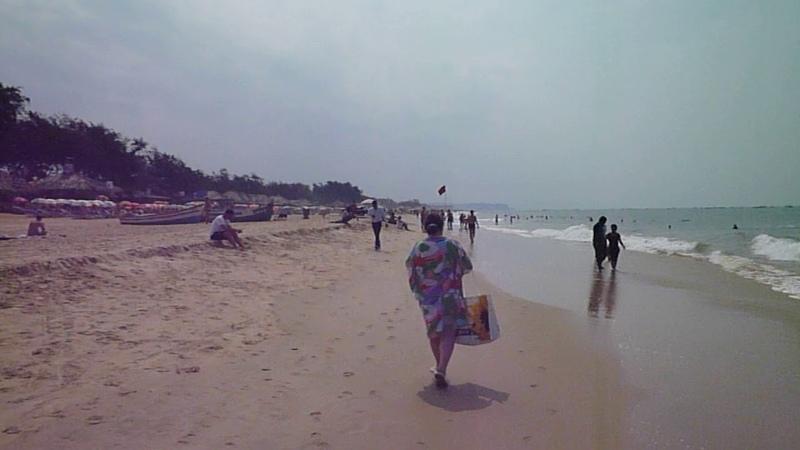 Гоа-2 ч.4 Пляж калангут.У нас нежданные гости.