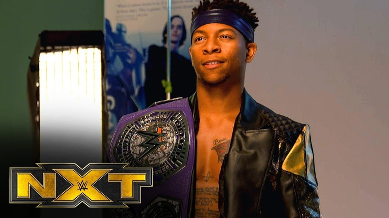 [My1] Lio Rush on what becoming NXT Cruiserweight Champion means: NXT Exclusive, Oct. 9, 2019