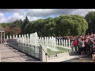 Открытие Любашинского фонтана