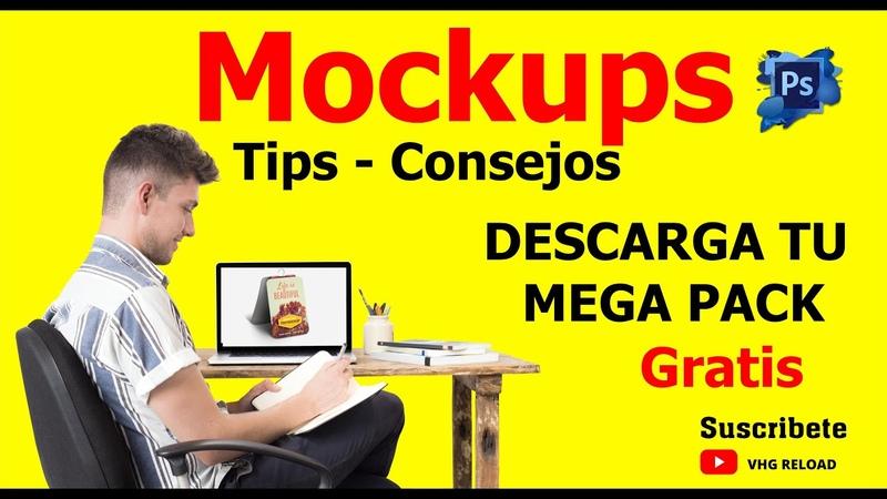 🔥 🔥 QUE ES UN Mockups Descarga el PACK DE 80 Mockups gratis TIPS Y CONSEJOS🔥 🔥