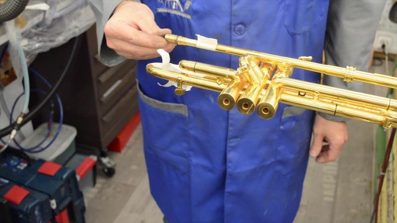 Pose du RGA pour trompette de Harrelson