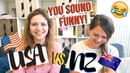 DIFFERENT ENGLISH ACCENTS American Accent vs New Zealand Accent Challenge