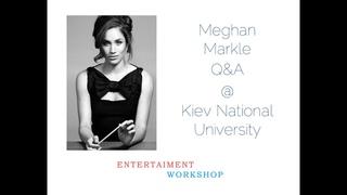 Meghan Markle Skype Q&A @ Kiev National University