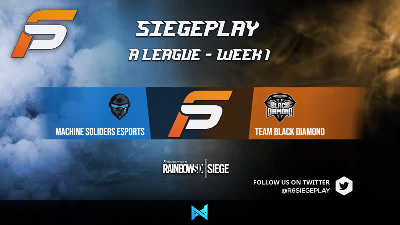 SiegePlay A League Week 1 Machine Soldiers vs StonesGG Caster @SquidCS and James