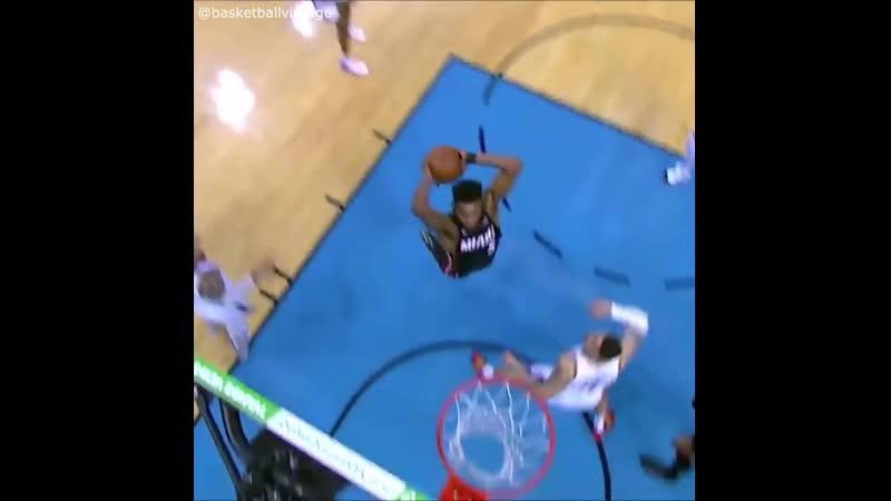 Goran Dragic assist to Derrick Jones Jr