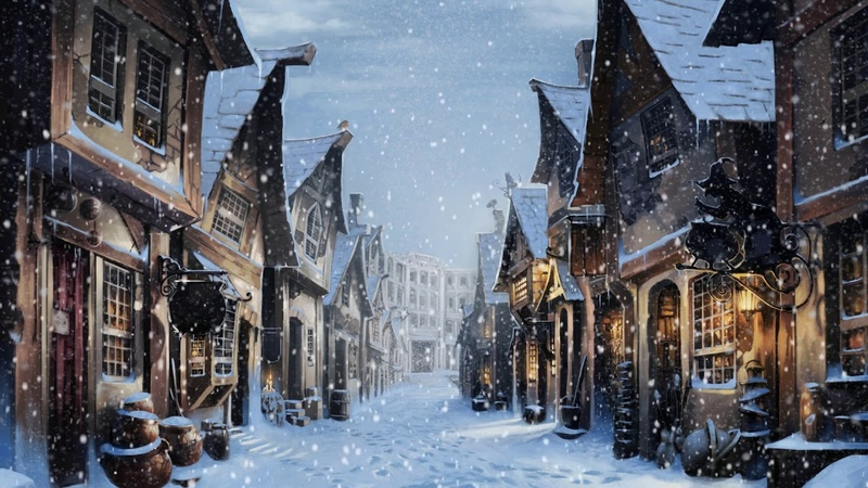 1 Hour Relaxing Harry Potter WinterChristmas Music