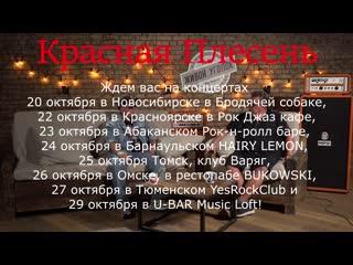 Красная плесень 30 лет сибирский тур