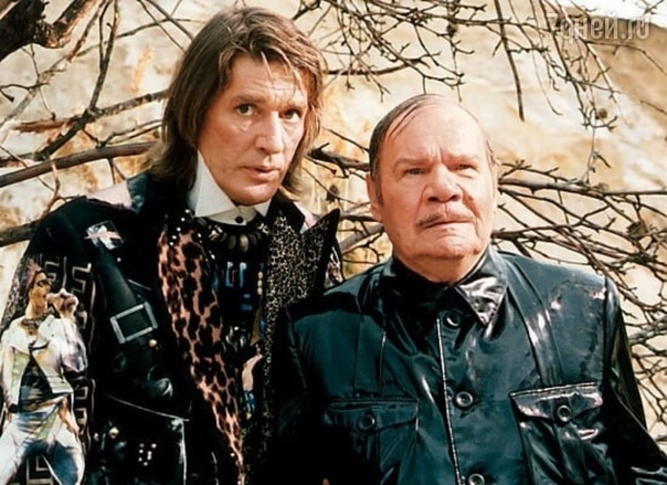 Александр Абдулов и Михаил Пуговкин, 90-е
