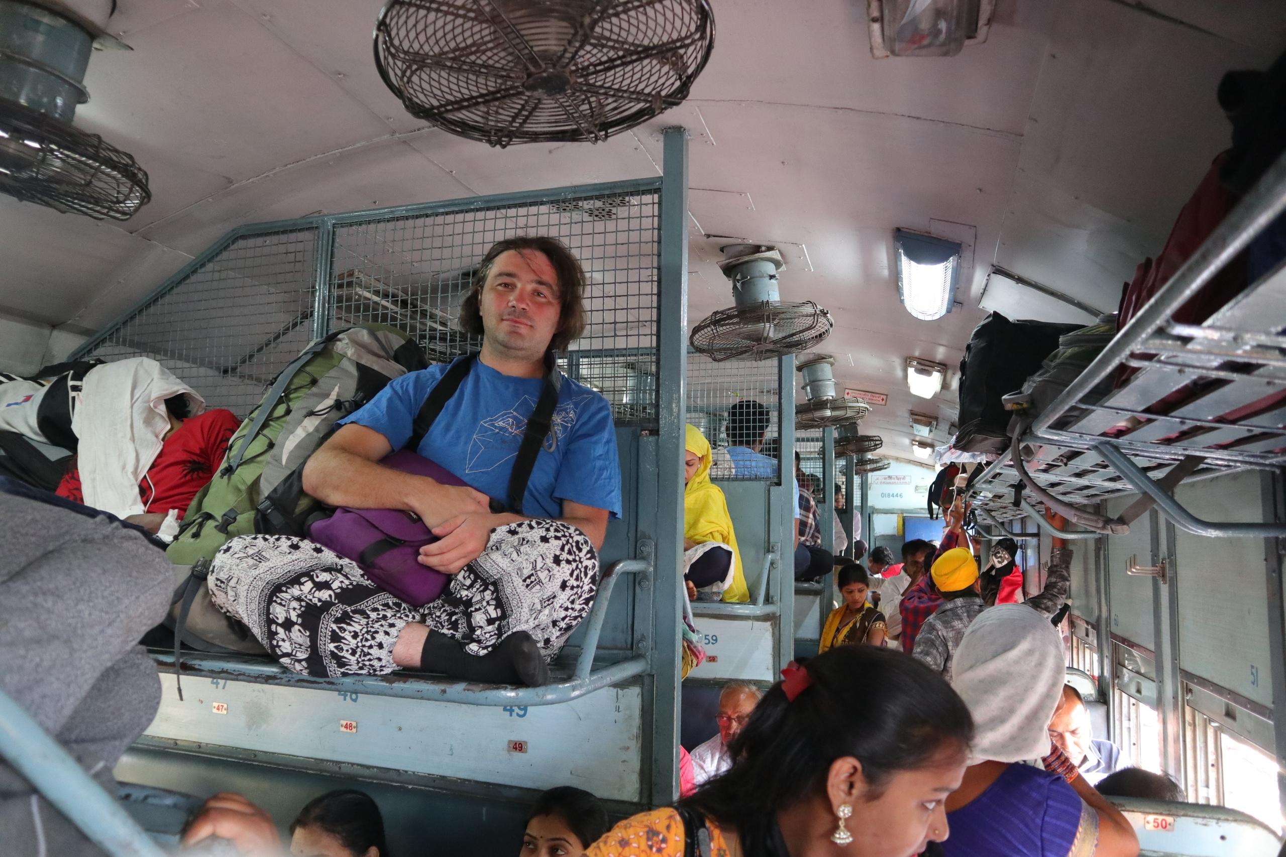 Едем на поезде по Индии. Какие бывают типы вагонов