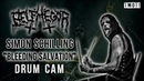 "DRUM CAM: Simon Schilling of Belphegor - ""Sanctus Diaboli Confidimus"" and ""Bleeding Salvation"" Live"