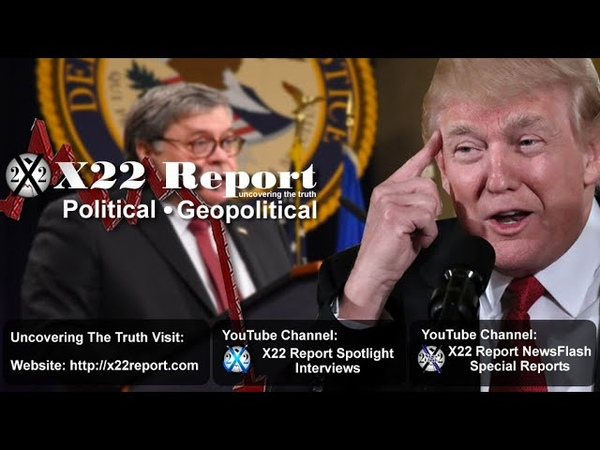 Optics Are Important, Barr's Delayed Testimony Confirmed, Traps Are Important - Episode 2097b